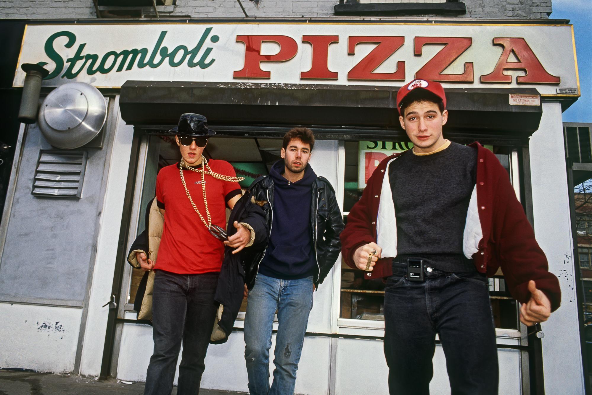 BEASTIE BOYS, 1986 STROMBOLI PIZZA