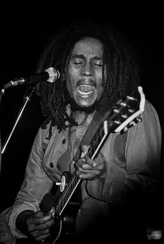 Bob Marley Singing, 1976