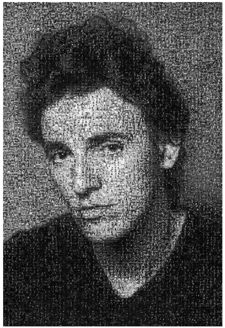 Lynn Goldsmith Black and White Photograph - Bruce Springsteen Mosaic