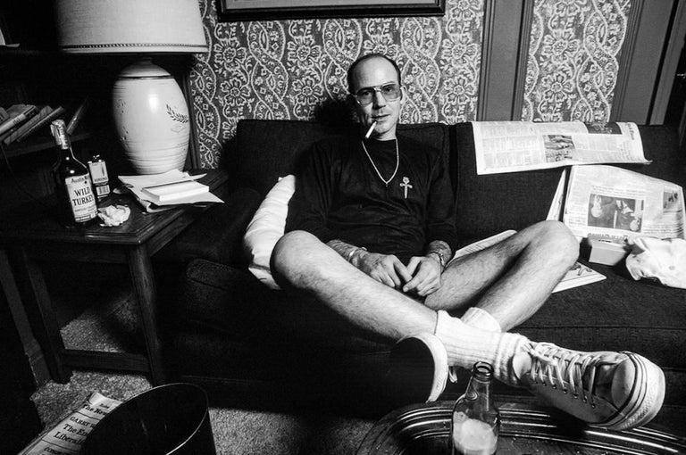 Hunter S. Thompson, NYC 1977
