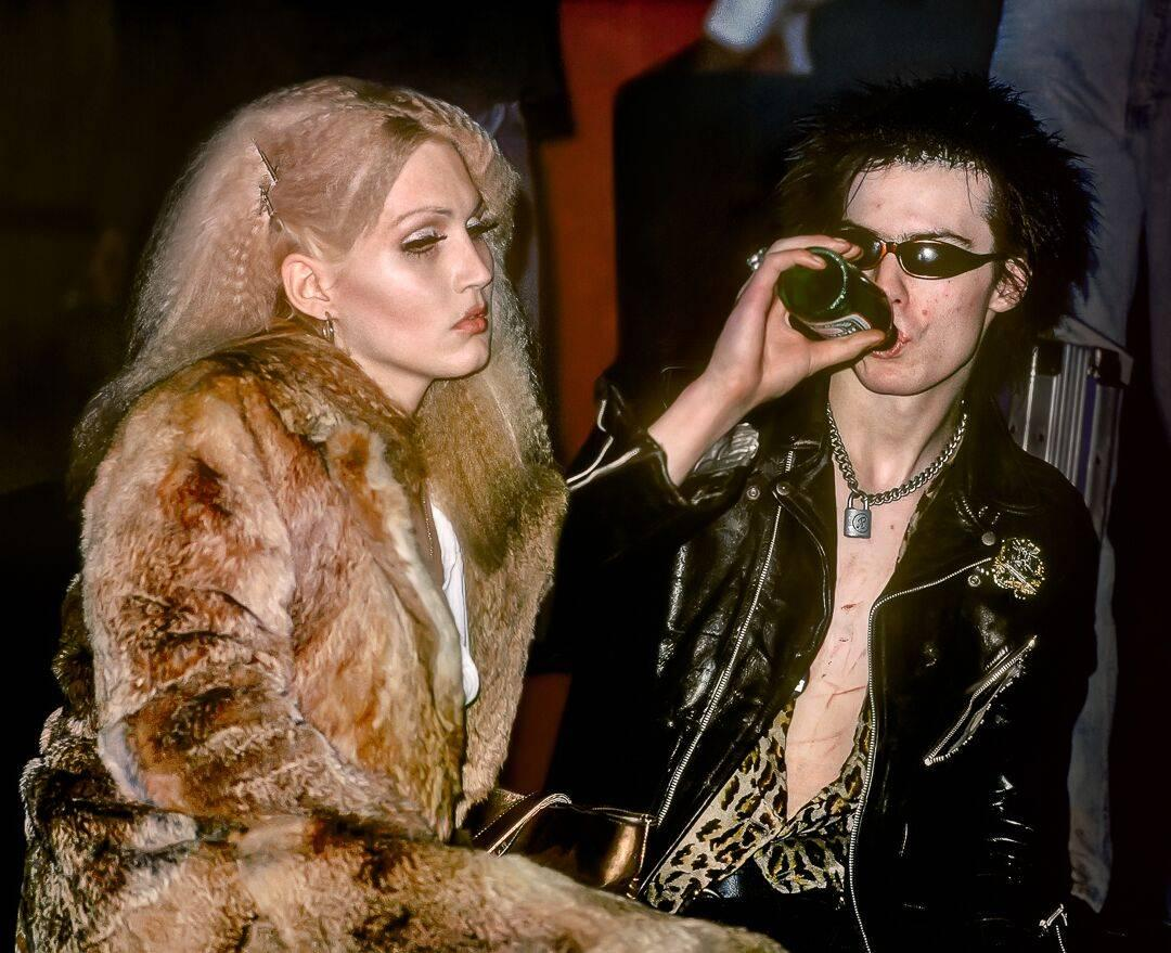 Sid Vicious and Nancy Spungen, NYC 1978