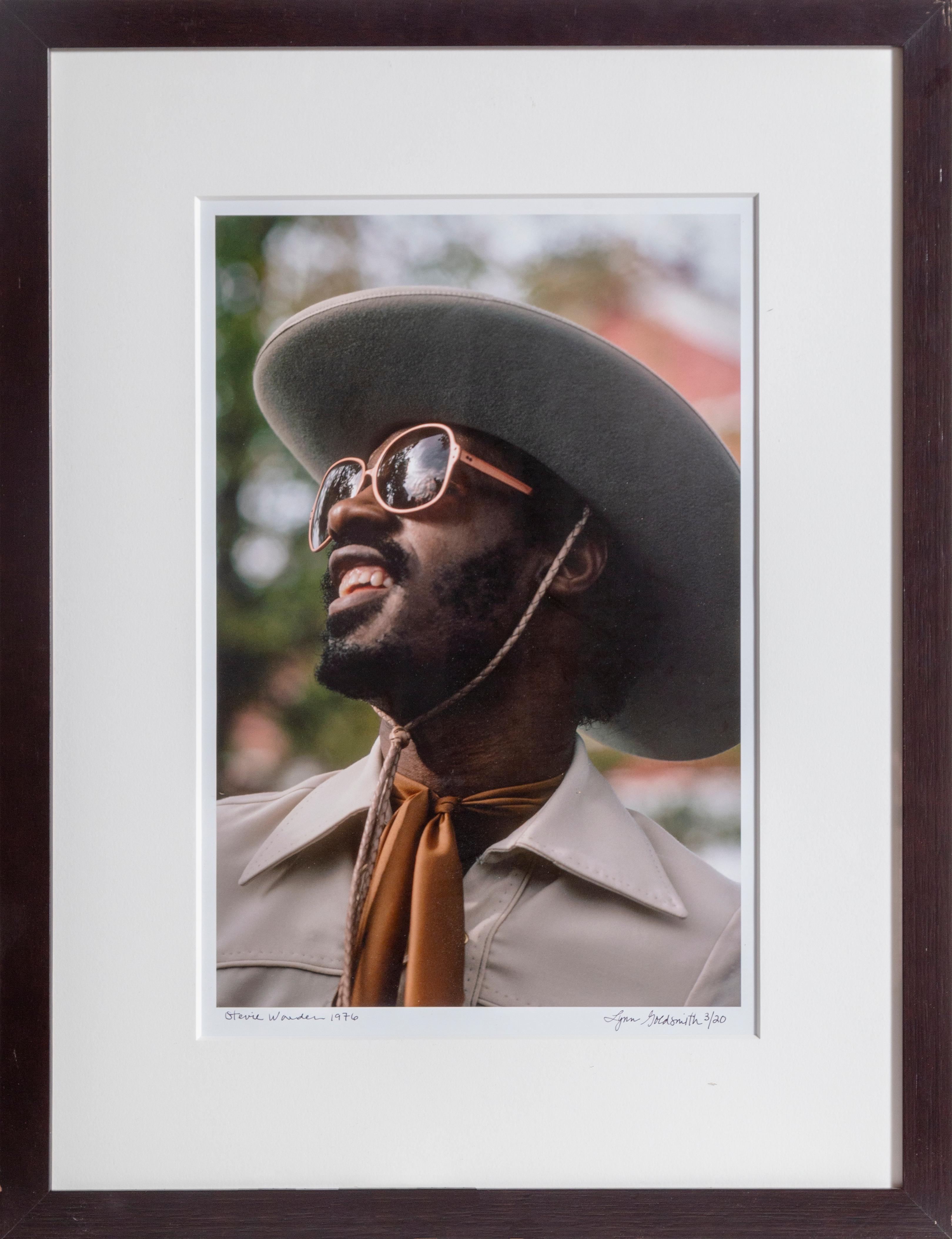 Stevie Wonder Photograph, by Lynn Goldsmith
