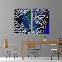 Cabana Diptych - Framed