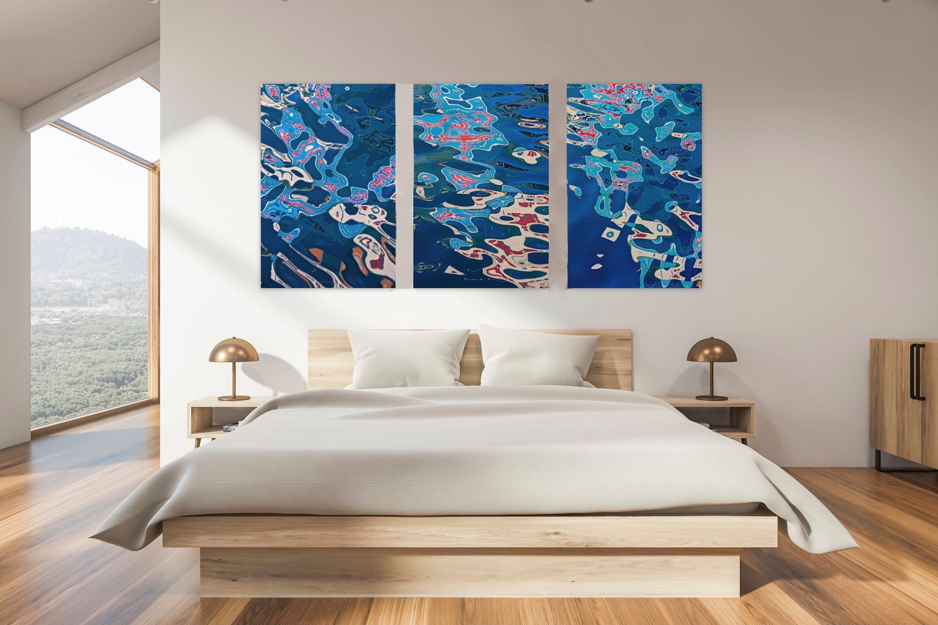 Kabuki Triptych - Archival Pigment Print mounted on Plexiglass Ltd Ed 1/5