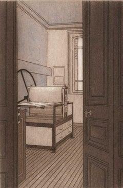 Mon Atelier  (the Parisian atelier of artist Lynn Shaler)