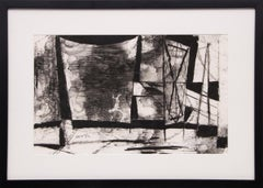 Untitled (Abstract in Black & White)