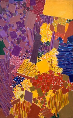 Sea Obscured, by Lynne Mapp Drexler Mid-Century Abstract Expressionist 1963