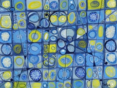 Abstract Art Sixty-Four, Painting, Acrylic on Canvas
