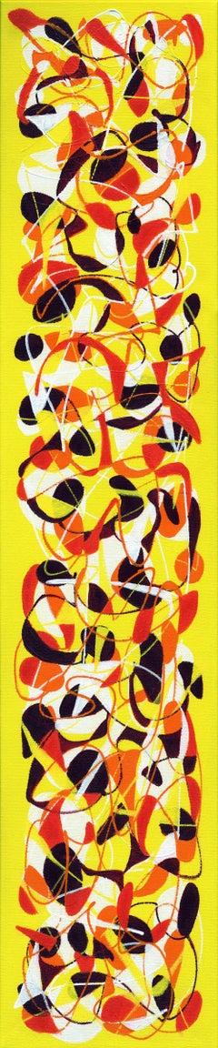 Engage Three, Painting, Acrylic on Canvas