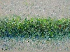 Hedgerow, Painting, Acrylic on Canvas