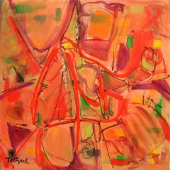 Open Paths One, Painting, Acrylic on Canvas