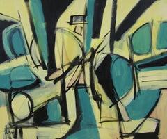 Pirandello, Painting, Acrylic on Canvas