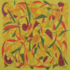 Syncopation Folly, Painting, Acrylic on Canvas