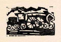 Little Locomotive (Kleine Lokomotive) – Artist's personal letterhead