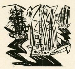 Ships (Three Sailing Ships)