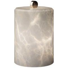 Lyra Alabaster Table Lamp by Atelier Alain Ellouz