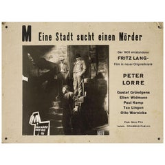M 1950s Swiss Scene Card