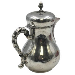 M. Buccellati Hammered Sterling Silver Tea Pot in Bachelor Size