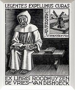 Ex Libris D.H. Roodhuyzen (Monk)