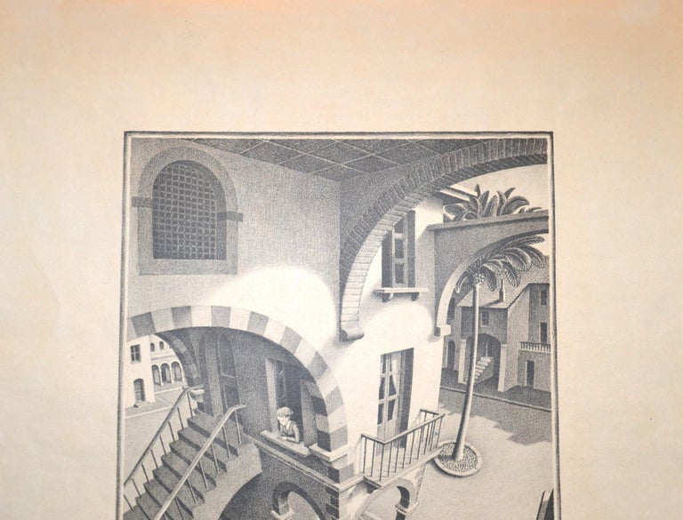 Up And Down - Original Lithograph by M.C. Escher - 1974 For Sale 2