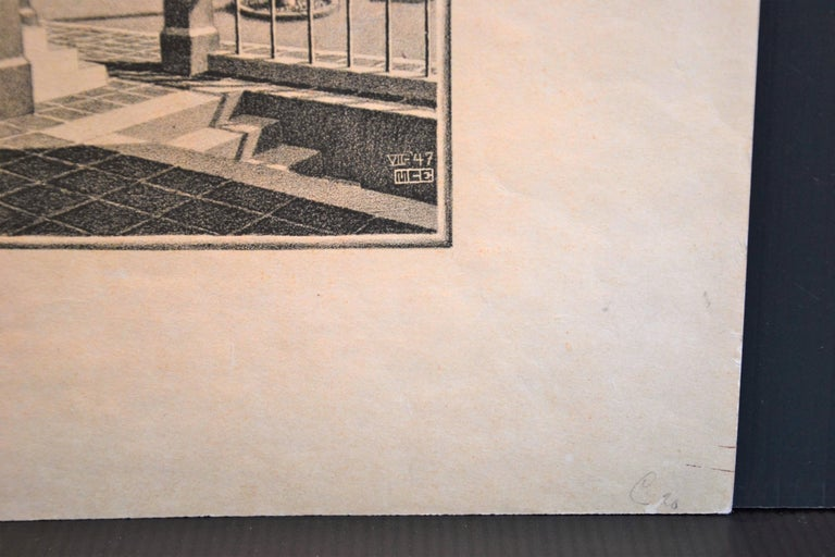 Up And Down - Original Lithograph by M.C. Escher - 1974 For Sale 3