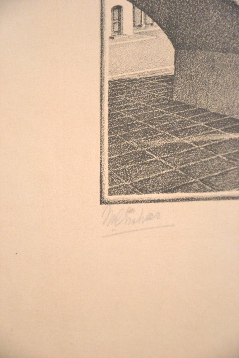 Up And Down - Original Lithograph by M.C. Escher - 1974 For Sale 4