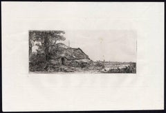 Untitled - This plate shows a landscape with farm [...].
