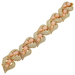 M. Gerard Diamond, Angel Skin Coral Bracelet