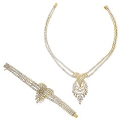 M. Gerard Diamond Bracelet and Necklace Suite