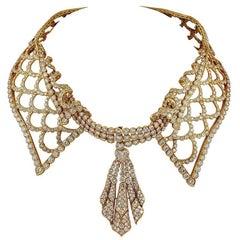 M. Gerard Diamond Choker Necklace