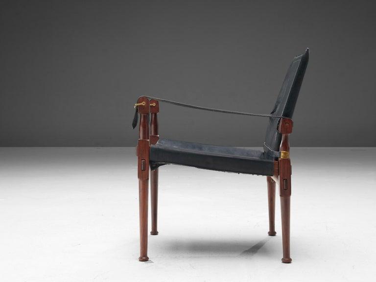 Mid-Century Modern M. Hayat & Brothers Pakistani Safari Chair For Sale