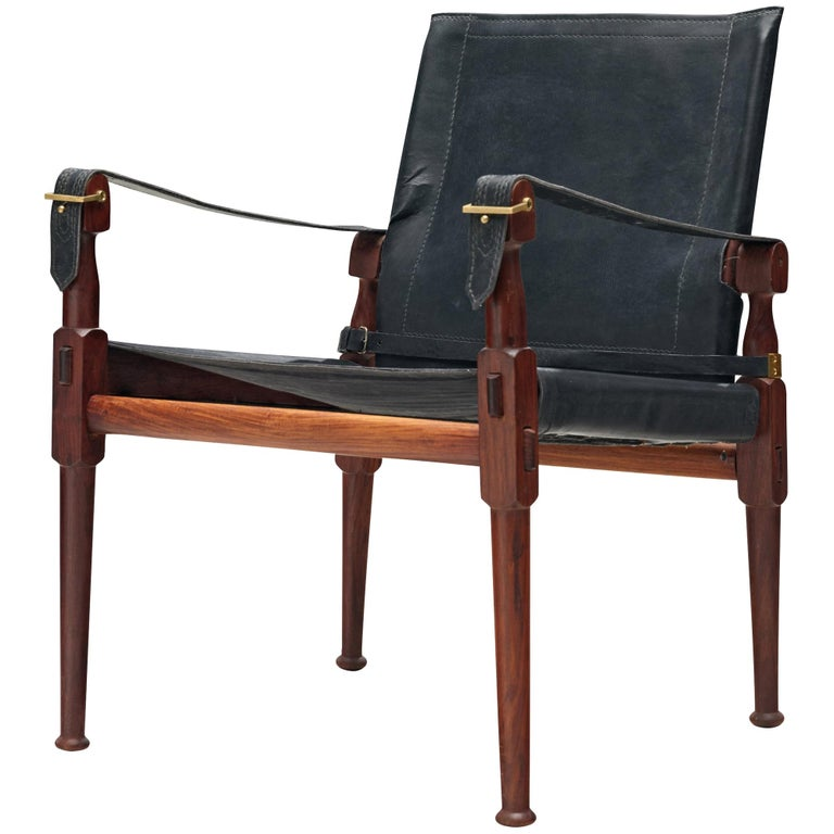 M. Hayat & Brothers Pakistani Safari Chair For Sale
