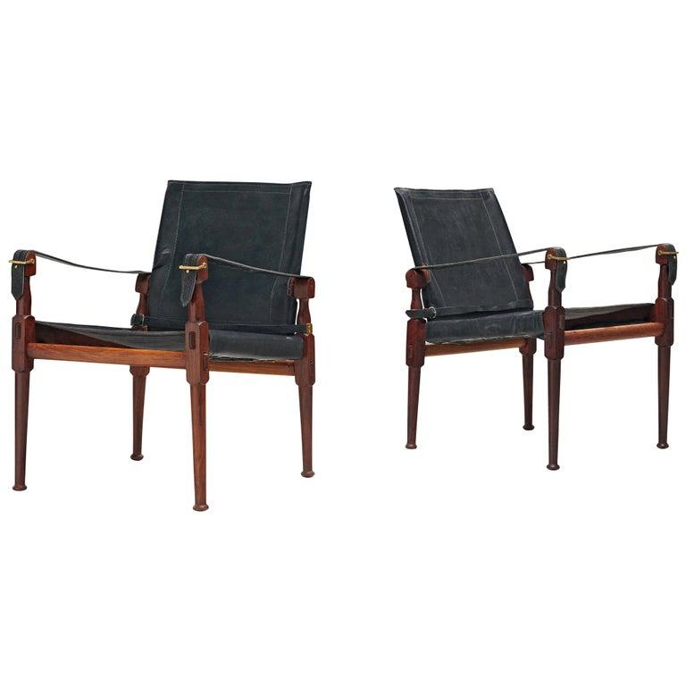 M. Hayat & Brothers Pakistani Safari Chairs For Sale