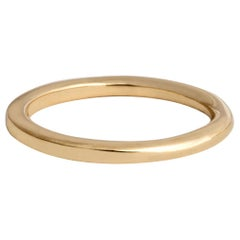 M. Hisae Dynamic Round to Square 2mm Wedding Band
