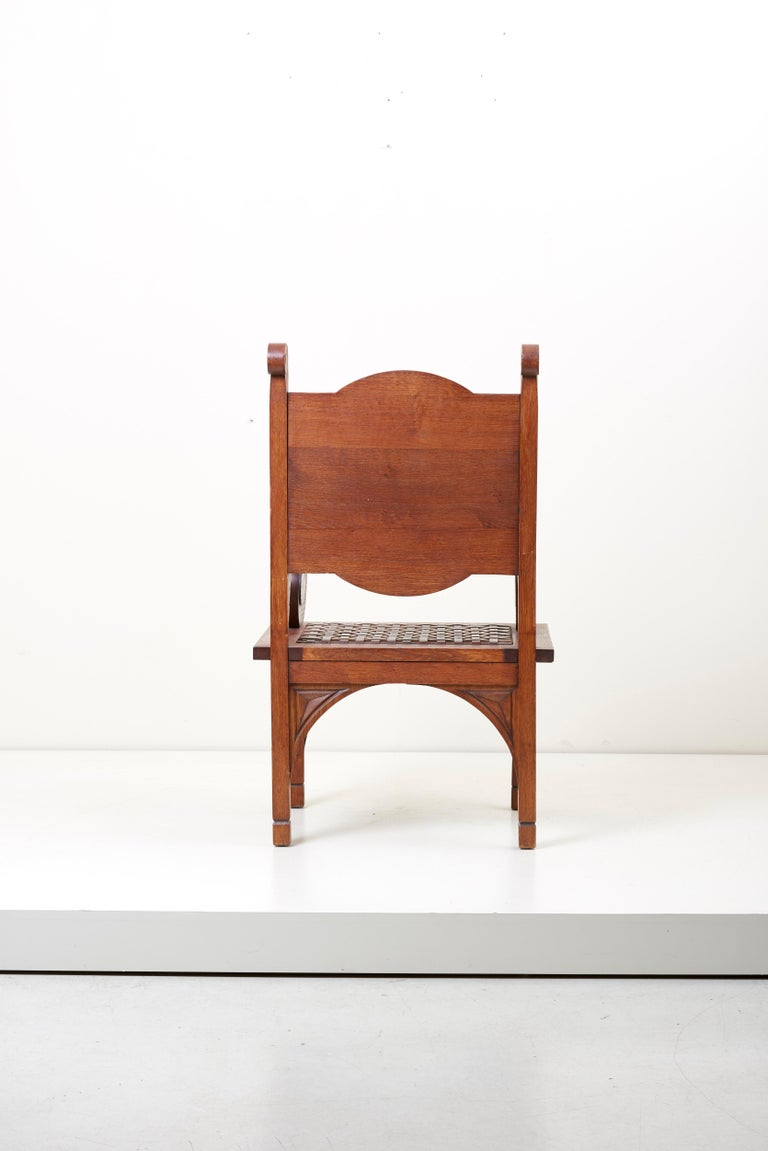 Mid-20th Century M. Jacques Philippe Armchair Art Deco, France, 1930s For Sale