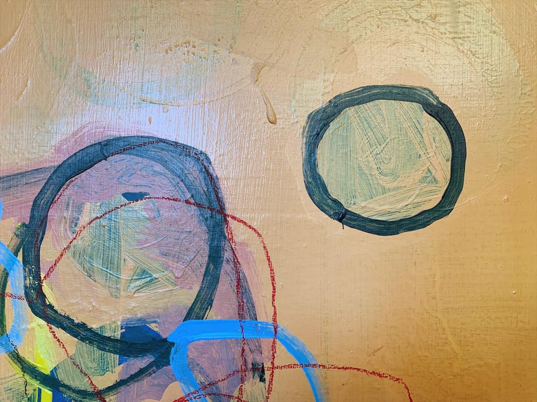 American M. P. Landis Abstract Painting For Sale
