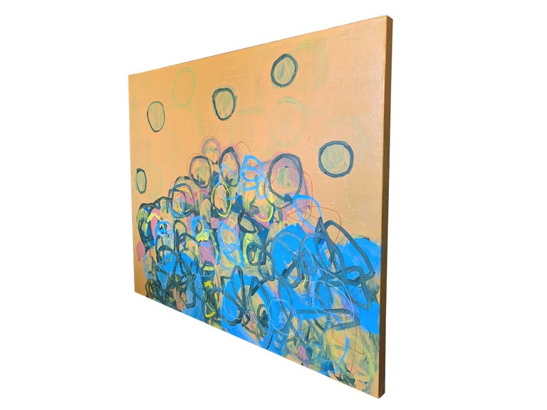 M. P. Landis Abstract Painting In New Condition For Sale In New York, NY