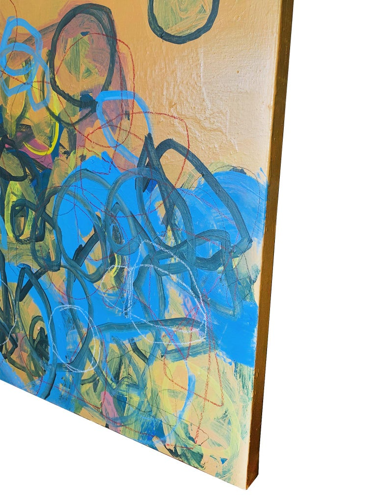 Contemporary M. P. Landis Abstract Painting For Sale