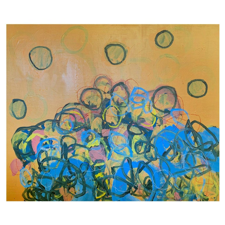 M. P. Landis Abstract Painting For Sale