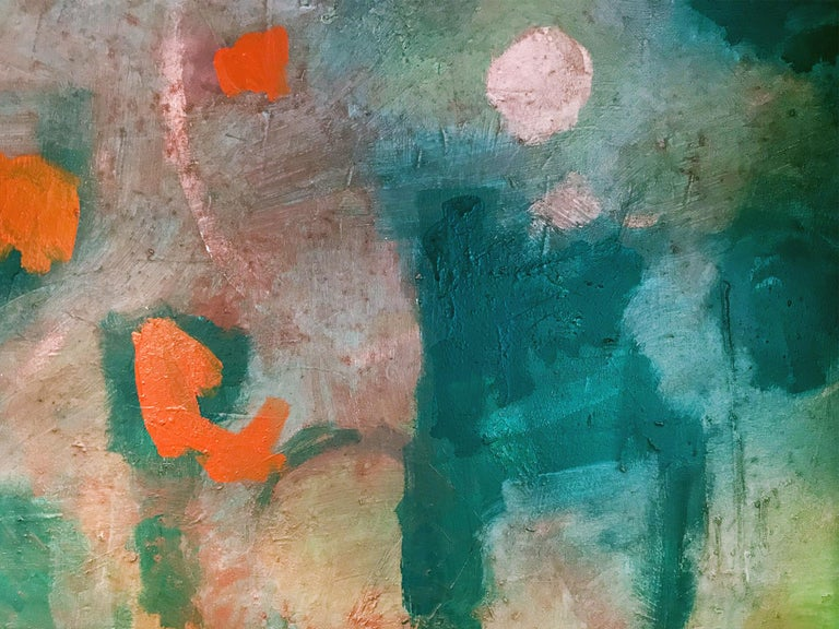 M P Landis Abstract Painting,