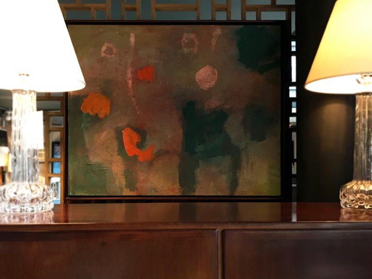 Contemporary M P Landis Abstract Painting,