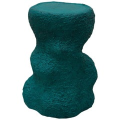M, Side Table, Contemporary Design, Dark Green, Functional Sculpture, Side Table