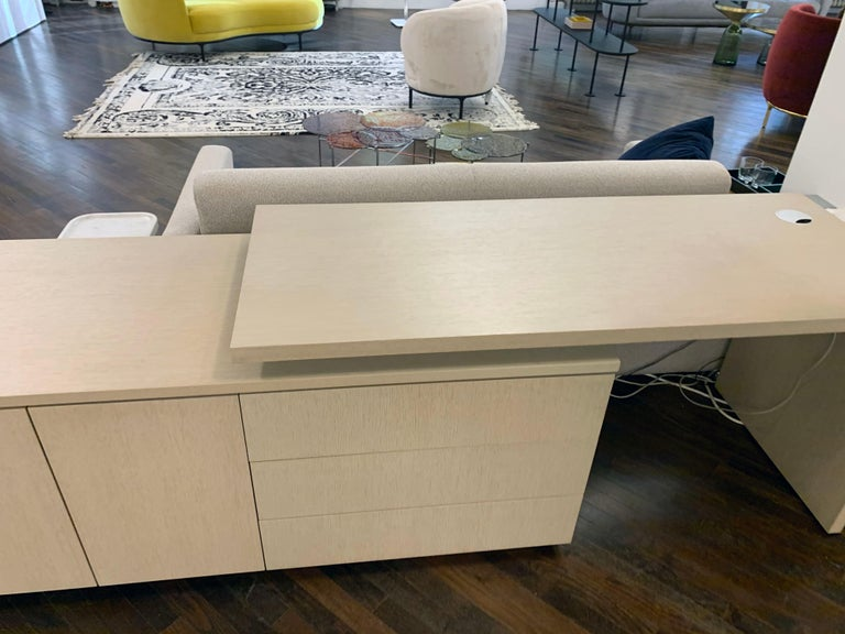 M2L Brand Wood Desk In Excellent Condition For Sale In New York, NY