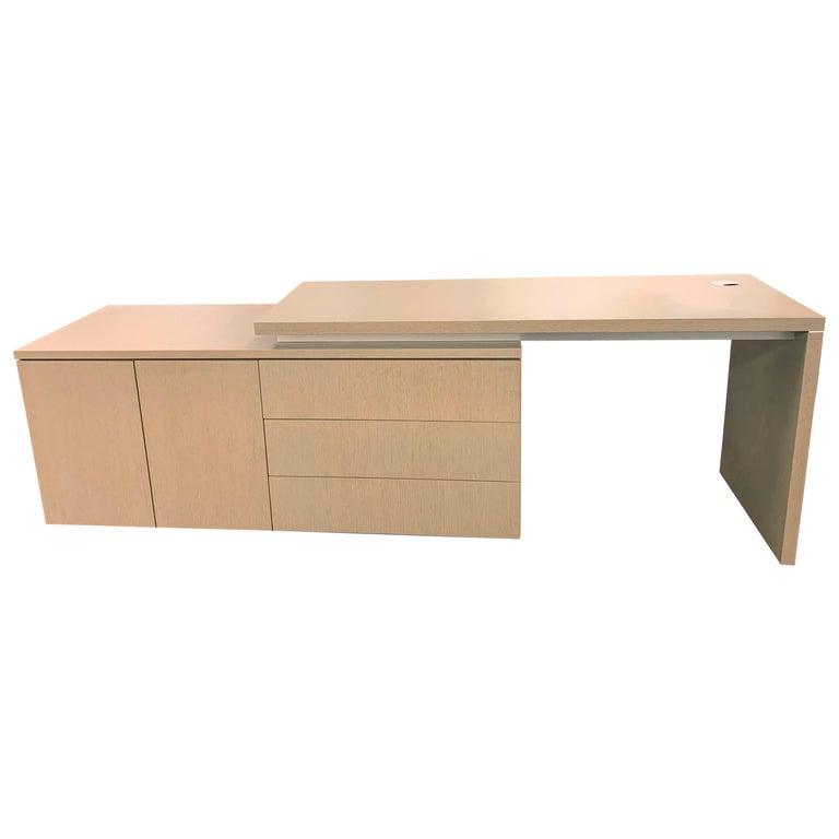 M2L Brand Wood Desk For Sale