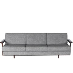 "Midcentury brazilian ""M3"" Sofa by Carlos Millan for Branco & Preto, 1952"