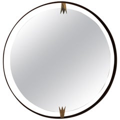Ma39 Giant Iron Round Wall Mirror