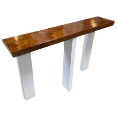 Ma39 Solid Walnut Side Tables / Consoles, 21st Century