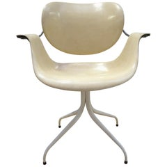 MAA Swaged Leg Lounge Chair by George Nelson for Herman Miller, 1958