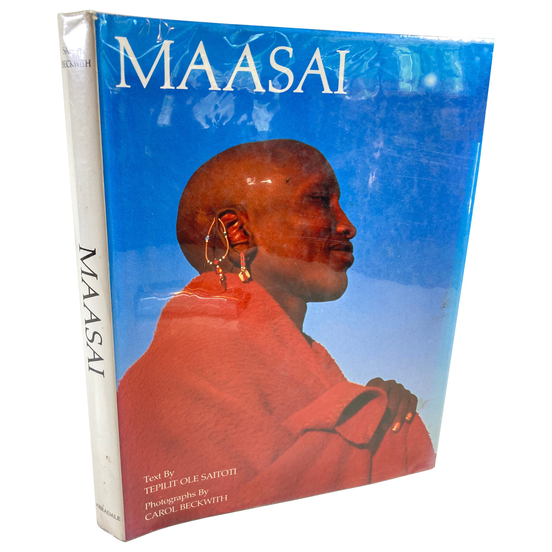 Maasai by Teplit Ole Saitoti Vintage Hardcover Book
