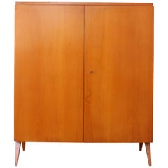 Mable Wood Cabinet, Germany, 1950s